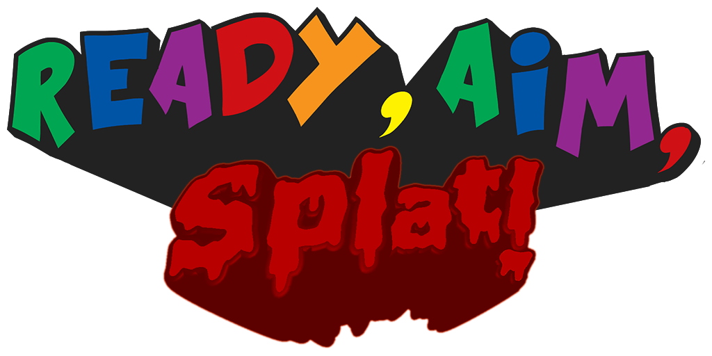 Ready, Aim, Splat! Logo